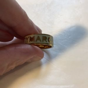 Marc Jacobs enamel band ring size 6